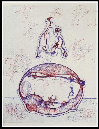 Litografia Ernst - HOMMAGE A MAX ERNST