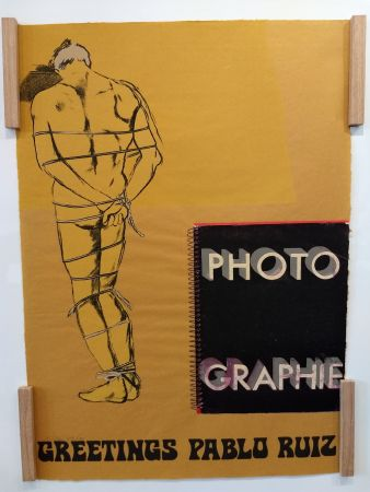 Litografia Kitaj - Hommage a Picasso