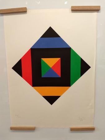 Litografia Bill - Hommage a Picasso