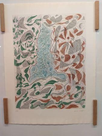 Litografia Masson - Hommage a Picasso