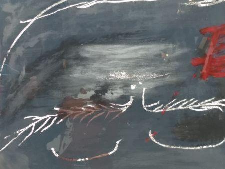 Litografia Tapies - Hommage a Picasso