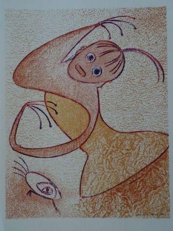 Litografia Ernst - Hommage a San Lazarro