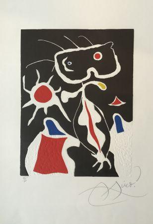 Linoincisione Miró - Hommage a San Lazzaro