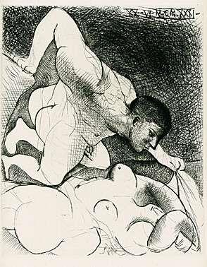 Punta Secca Picasso - Homme dévoilant une femme