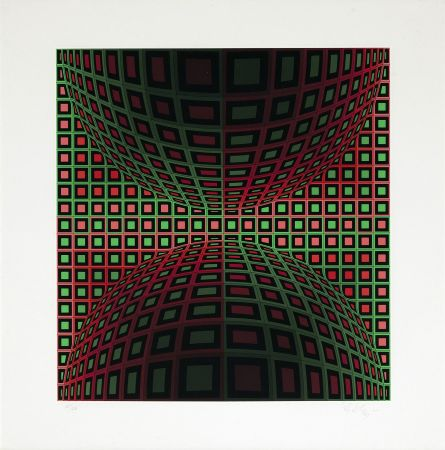 Serigrafia Vasarely - Homok