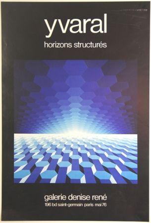 Offset Yvaral - Horizon Structurés Galerie Denise René