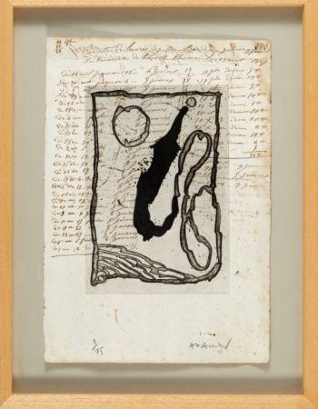 Acquatinta Alechinsky - Hors calendrier