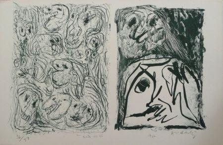 Litografia Alechinsky - Hors Texte Vii - Viii