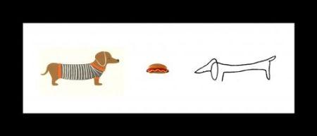 Litografia Leirner - Hot Dog