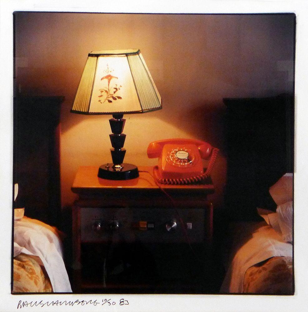 Fotografie Rauschenberg - Hotel Room