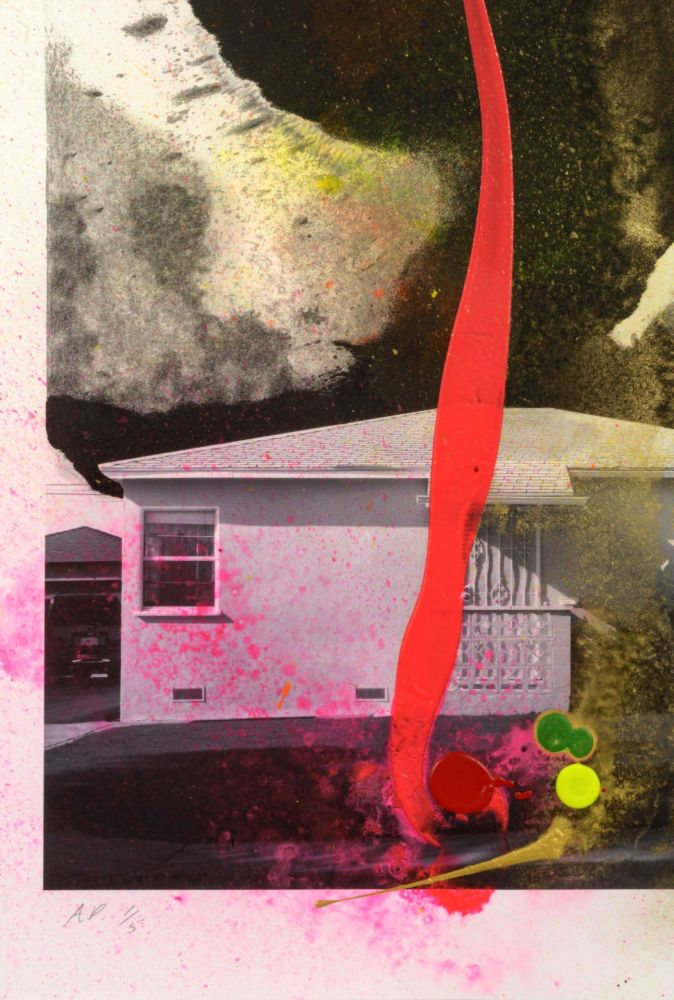 Litografia Goode - House Tornado (11521)