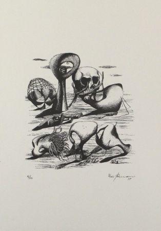 Litografia Zimmermann - Hundert Jahre Später