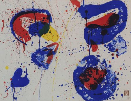 Litografia Francis - Hurrah for the Red, White and Blue (SF-17)