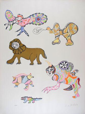 Serigrafia De Saint Phalle - I am a beautiful camel (Nana Power)