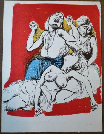 Litografia Guttuso - I Vespri Siciliani