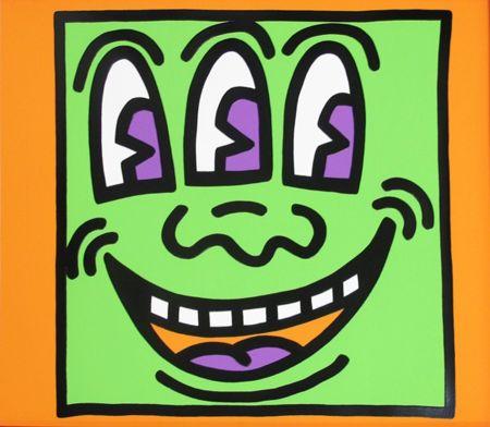 Serigrafia Haring - Icons (E) - Three Eyed Man