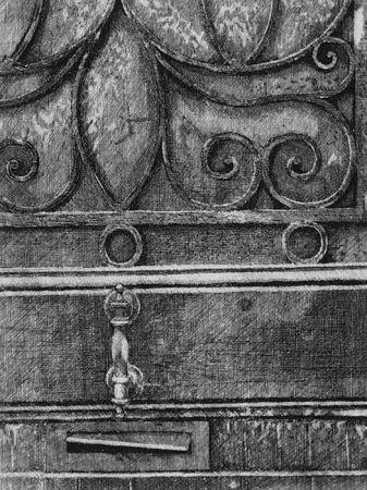 Acquaforte Cacciarini - Il cancello