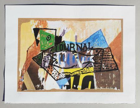 Serigrafia Rotella - Il giornale di Picasso