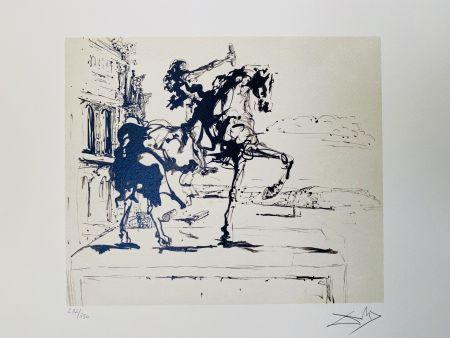 Litografia Dali - Il Giudice