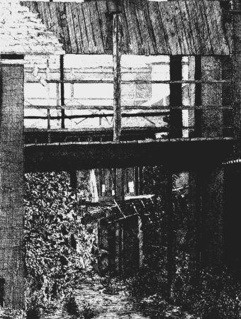 Acquaforte Cacciarini - Il ponte di legno