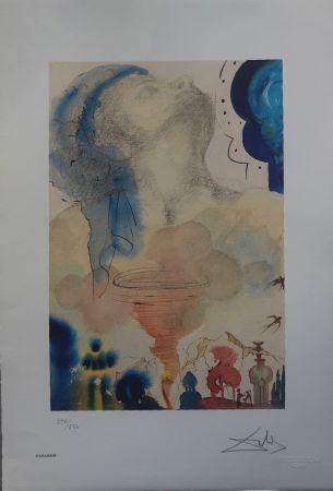 Litografia Dali - Il Tornado