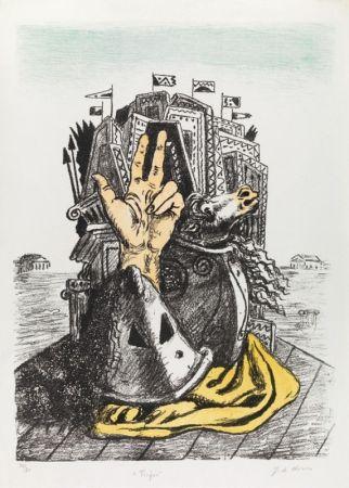 Litografia De Chirico - IL TROFEO
