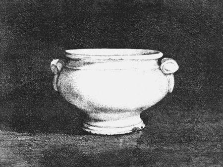 Acquaforte Cacciarini - Il vaso bianco