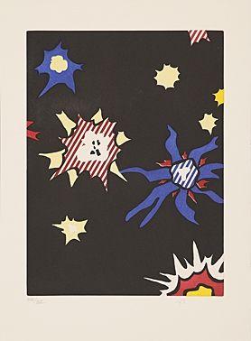 Acquaforte E Acquatinta Lichtenstein - Illustration for