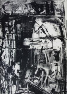 Litografia Vedova - Immanente 3