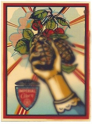 Serigrafia Fairey - Imperial Glory