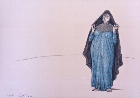 Litografia Zuniga - Impressions Of Egipto (Egypt) Plate 1