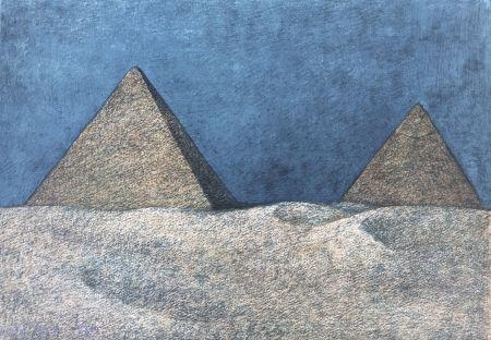 Litografia Zuniga - Impressions Of Egipto (Egypt) Plate 2