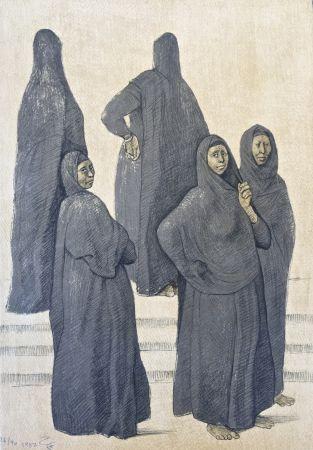 Litografia Zuniga - Impressions Of Egipto (Egypt) Plate 3
