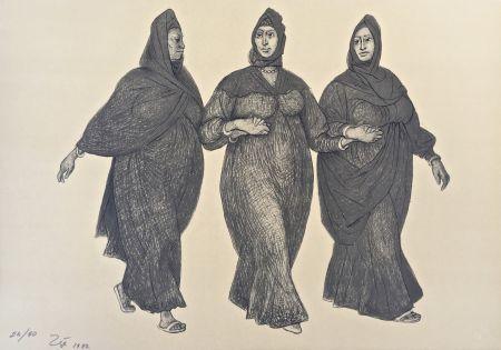 Litografia Zuniga - Impressions Of Egipto (Egypt) Plate 5