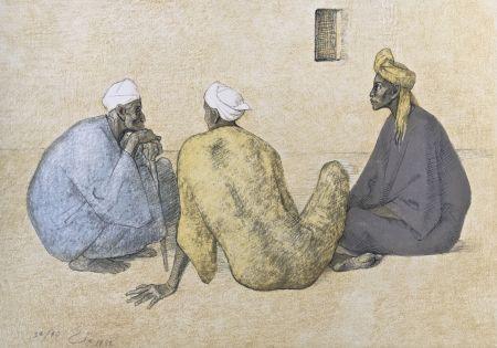 Litografia Zuniga - Impressions Of Egipto (Egypt) Plate 6