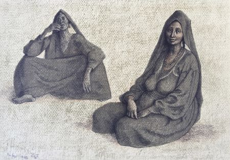 Litografia Zuniga - Impressions Of Egipto (Egypt) Plate 8