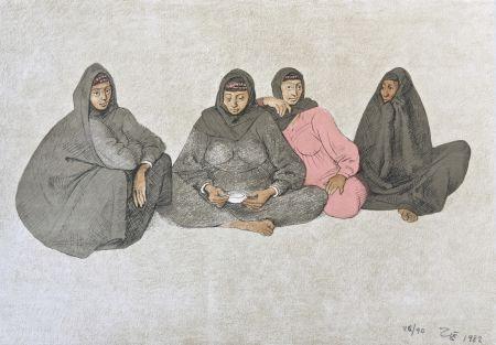Litografia Zuniga - Impressions Of Egipto (Egypt) Plate 9
