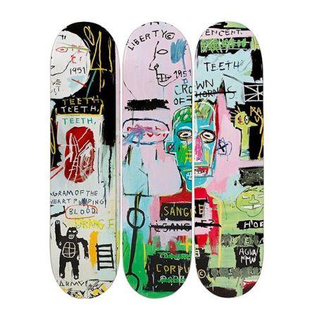 Litografia Basquiat - In Italian