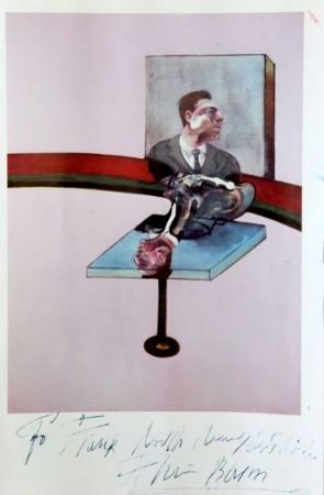 Manifesti Bacon - In Memory of George Dyer, from a triptych (1971)