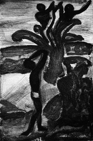 Acquatinta Rouault - Incantation