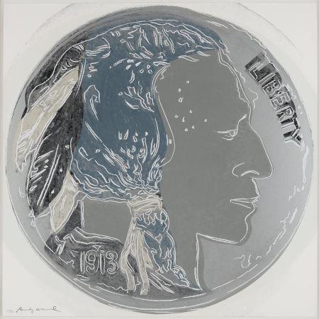 Serigrafia Warhol - Indian Head Nickel