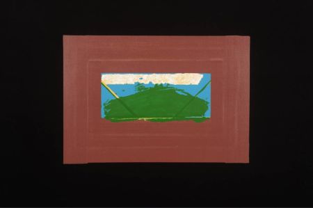 Serigrafia Hodgkin - Indian Views Suite – Plate G