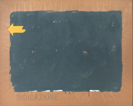 Serigrafia Schifano - Indicazione