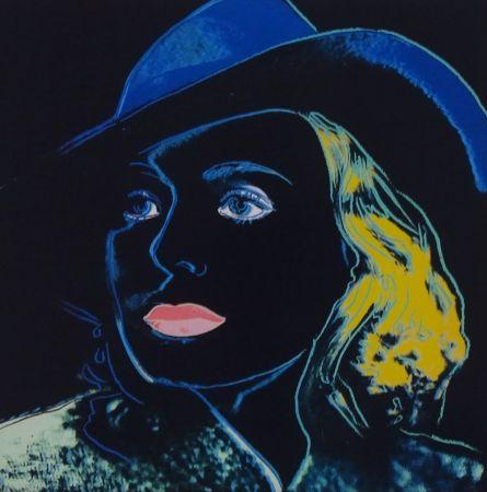 Serigrafia Warhol - Ingrid Bergman