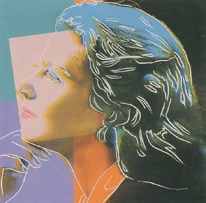Serigrafia Warhol - Ingrid Bergman - Herself