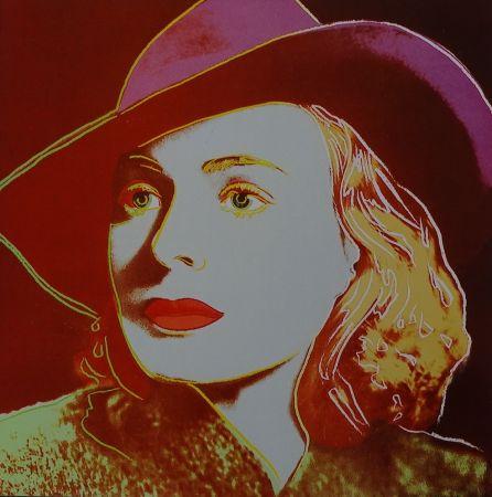 Serigrafia Warhol - Ingrid Bergman Casablanca