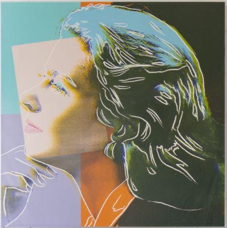 Serigrafia Warhol - Ingrid Bergman, Herself (FS II.313)
