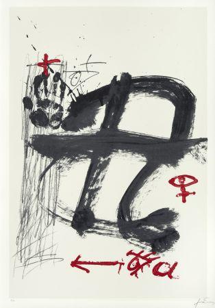 Serigrafia Tàpies - Inicials (AVL Zürich)