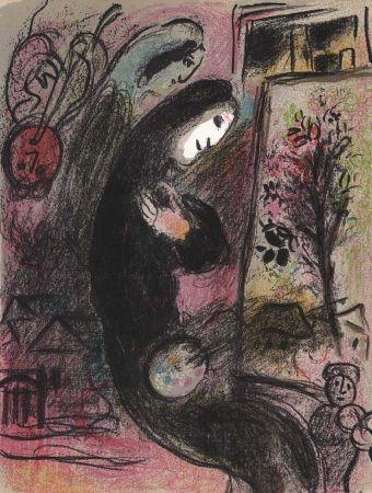 Litografia Chagall - Inspiration