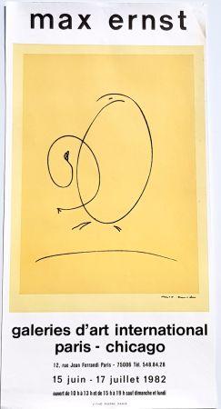 Litografia Ernst - International Art Gallery Paris- Chicago